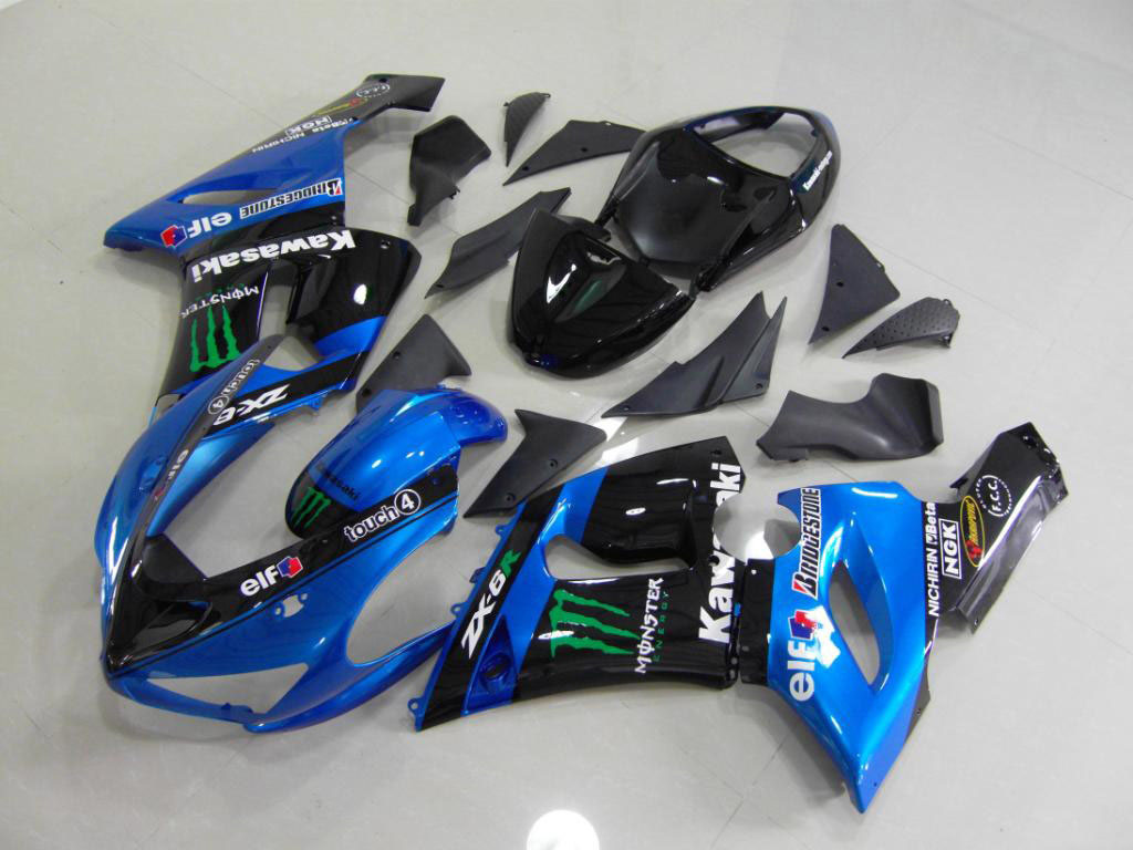 Europe kawasaki ninja body kits for zx6r
